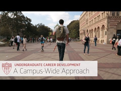 USC Undergraduate Plan for Career Development: A Campus-Wide Approach