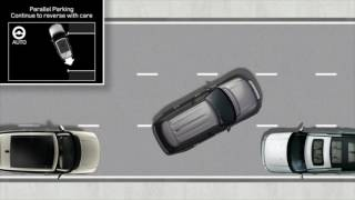 In addition to parallel park assist, your Range Rover features perpendicular park assist, which is designed to position the car centrally in parking spaces. The Range Rover also features parking exit mode which allows you to automatically exit parallel parking spaces. This tutorial will show you how to operate these systems.Join the conversation:http://Facebook.com/LandRoverUSAhttp://Twitter.com/LandRoverUSAhttp://Instagram.com/LandRoverUSA