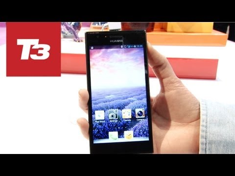 Huawei Ascend P2 hands-on preview video