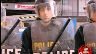 JFL Hidden Camera Pranks&Gags: Huge Red Flag Demonstration