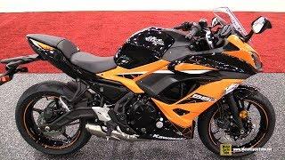 6. 2019 Kawasaki Ninja 650 ABS - Walkaround - 2018 AIMExpo Las Vegas