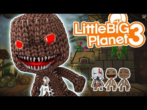 LittleBigPlanet3 | Escape From Sackboy