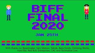 BIFF 2020 Final - Beastmaker International Footless Festival by Bouldering Bobat
