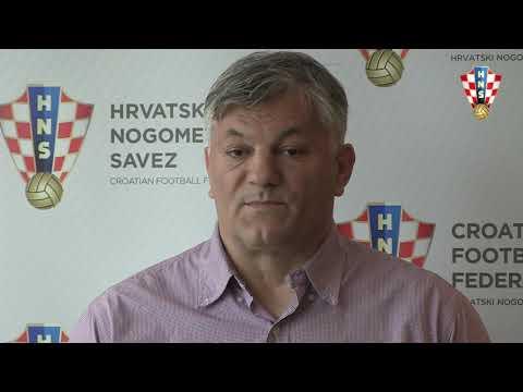 Ivan Gudelj, izbornik Hrvatske U-19 uoči Elitnog kola