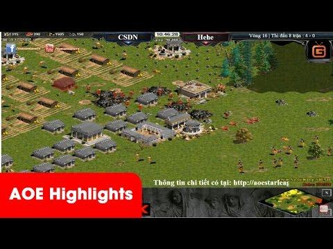 AOE Highlights - Màn solo mãn nhãn quẩy vs cung a 1 áo của Chim Sẻ và Hehe