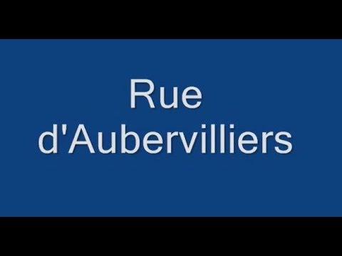 Rue d'Aubervilliers Paris Arrondissement  19e