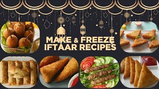 Make and Freeze Iftar Recipes by Food Fusion (Ramzan Special Recipes)