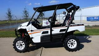 9. $17,899:  2018 Kawasaki Teryx4 in Bright White with Lift, Stereo and Wheel & Tire Upgrade and More!