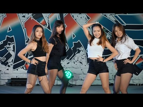 160827 จับฉ่าย Cover BLACKPINK - BOOMBAYAH + WHISTLE (Short Ver.) @ Esplanade Cover Dance#3 (Au)