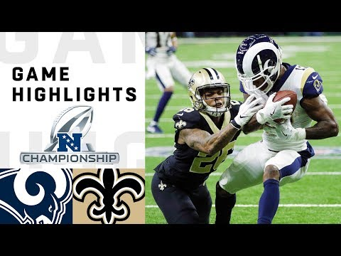 Rams vs. Saints NFC Championsh …