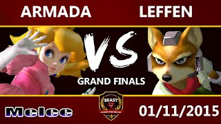 Video B.E.A.S.T 5 - [A] Armada (Peach) Vs. Leffen (Fox) - Melee Grand Final MP3, 3GP, MP4, WEBM, AVI, FLV Februari 2018