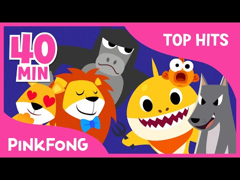 The Best Songs of Feb 2016 | The Lion and More | + Compilation | PINKFONG Songs for Children