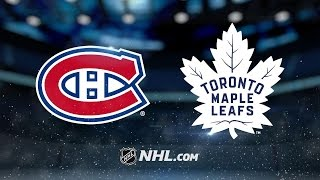 Shaw's OT winner lifts Habs past Maple Leafs, 3-2 by NHL