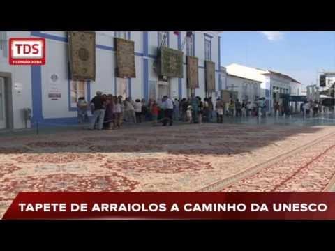 TAPETE DE ARRAIOLOS PREPARA CANDIDATURA A PATRIMÓNIO