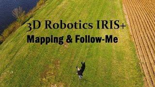 3D Robotics IRIS+ Mapping & Follow-Me Demo
