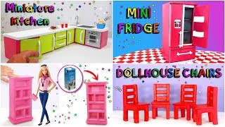 5 DIY Miniature for DollHouse Rooms