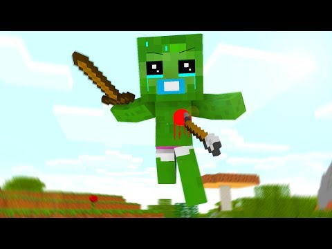 Baby Zombie Life 2 - Craftronix Minecraft Animation