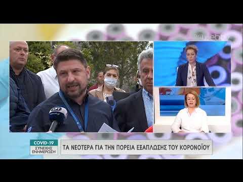 Ενημερωτική εκπομπή για COVID-19   21/04/2020   ΕΡΤ
