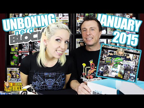 Nerd Block Classic Unboxing Video Review: January 2015