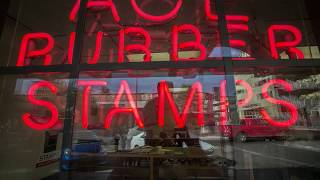 Even a digital world, there's still a need for good 'ol fashioned ink rubber stamps. Bob Friel at Ace Rubber Stamps is the guy in downtown Tucson that still practices an ancient art.  Video Ron Medvescek / Arizona Daily Star 2017