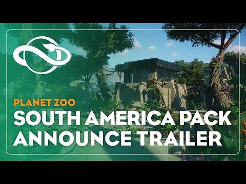 Pack Amerique du Sud- Trailer d'annonce de Planet Zoo