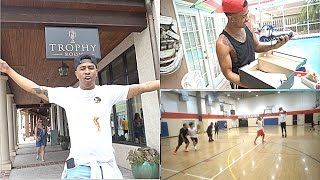 "Shoe Vlog #2 - I visited Michael Jordan Son Marcus Jordan very own shoe store named ""Trophy Room"" here in Orlando."