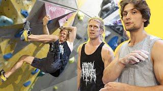 Is this the weirdest climbing problem In Sweden? by Eric Karlsson Bouldering