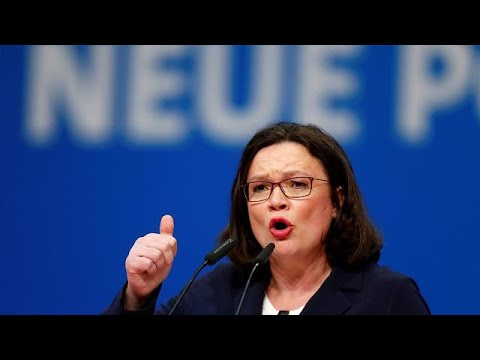 First female leader for Germany's Social Democrats