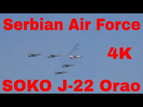 RARE Soko J-22 Orao Ground Attack...