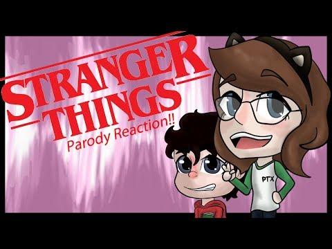 MY STRANGER THINGS PARODY REACTION VIDEO!