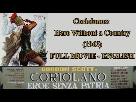 Coriolanus: Hero Without A Country (1963) - Full Movie - English Dub