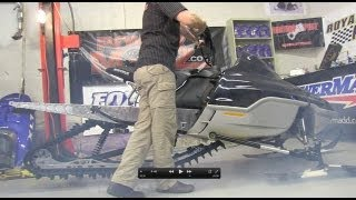 6. 700 Ski Doo mod sled Ep #37 Before and after weight, see the sled run! PowerModz!