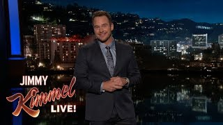 Video Chris Pratt's Guest Host Monologue on Jimmy Kimmel Live MP3, 3GP, MP4, WEBM, AVI, FLV Juli 2018
