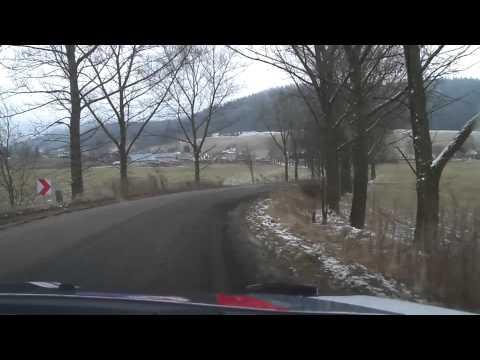 Onboard z testów #1/2015 - Oleksowicz::Kuśnierz - Ford Fiesta R5