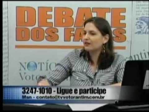 Debate dos Fatos na TV Votorantim Professor