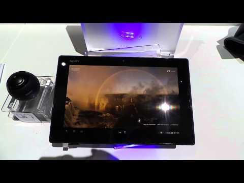 Sony Xperia Tablet Z - cienki, wytrzymały i wydajny - hands-on