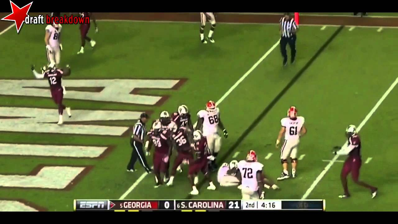 Victor Hampton vs Georgia (2012)