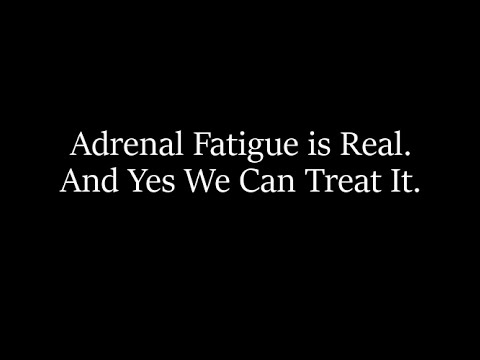 The Truth About Adrenal Fatigue with Dr. Herbold