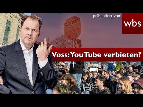 Artikel 13: Axel Voss überlegt Youtube zu verbieten l UN gegen Art. 13