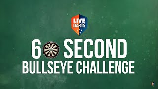 Live Darts 60-second Bullseye Challenge – How many bulls can the PDC stars hit?