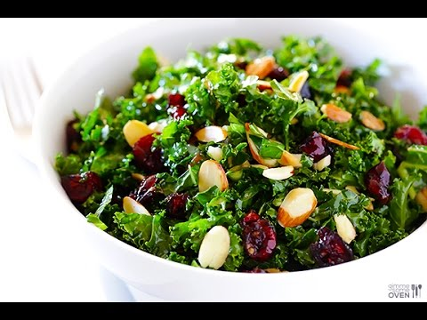 RAW KALE SALAD RECIPE – USE AS A DETOX!