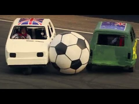 England Vs Australia: Reliant Robin Football | Top Gear Festival Sydney