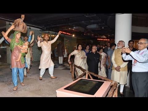 PM Modi at inauguration of Phase-II of Rashtrapati Bhavan Museum
