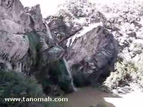 شلال دهناء الشلال الطبيعي الوحيد في السعودية