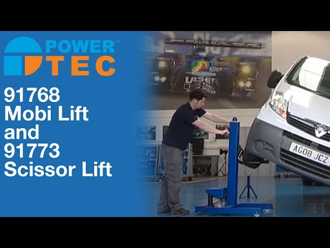 91773 | Power-TEC Scissor Lift