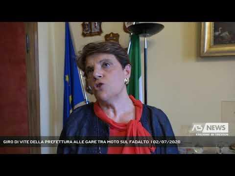 GIRO DI VITE DELLA PREFETTURA ALLE GARE TRA MOTO SUL FADALTO  | 02/07/2020