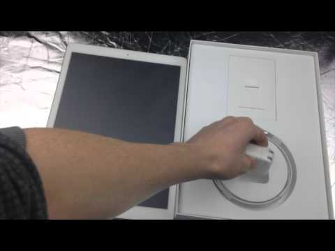 unboxing iPad Pro 128gb Gold 12.9