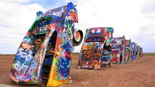 Amarillo (TX) United States  city pictures gallery : Cadillac Ranch & The Big Texan Steak Ranch, Amarillo, Texas, United States, North America
