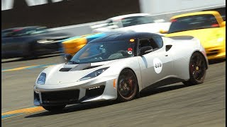 2018 Lotus Evora 400: Four Trackdays  in 1 Video! by The Smoking Tire