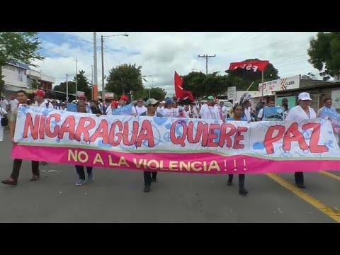 Nicaragua: Kundgebungen für und gegen Präsident Orteg ...